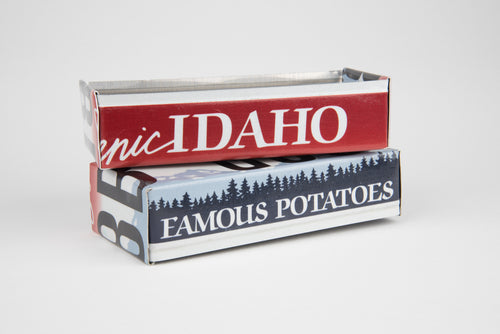 IDAHO TRAY  Recycled License Plate Art - Unique Pl8z