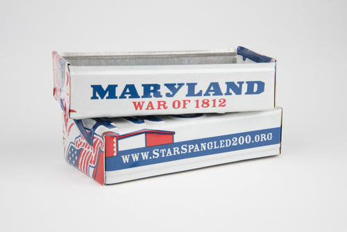 MARYLAND TRAY  Recycled License Plate Art - Unique Pl8z
