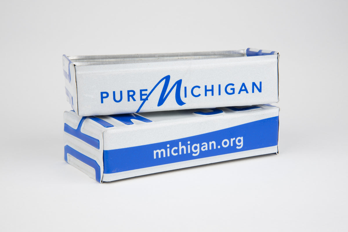 MICHIGAN TRAY  Recycled License Plate Art - Unique Pl8z