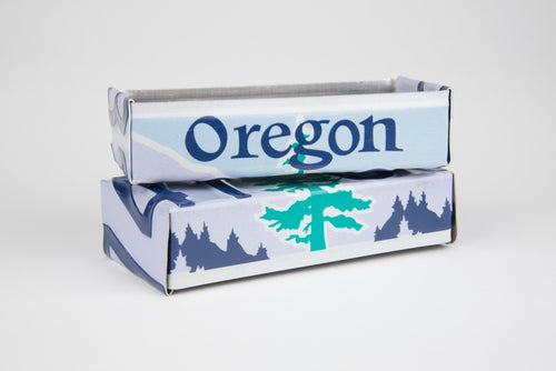 OREGON TRAY  Recycled License Plate Art - Unique Pl8z