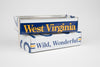 WEST VIRGINIA TRAY  Recycled License Plate Art - Unique Pl8z