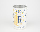 Indiana License Plate Pencil Holder- Indiana Souvenir - Father's Day gift Idea - Indiana Teacher Gift idea - Indiana Gift Idea  Recycled License Plate Art - Unique Pl8z