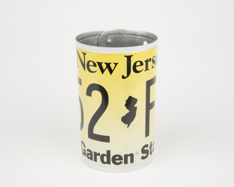 New Jersey License Plate Pencil Holder - New Jersey Souvenir - Father's Day gift Idea - New Jersey Teacher Gift idea - New Jersey Gift Idea