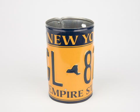 New York License Plate Pencil Holder - New York Souvenir - Father's Day gift Idea - New York Teacher Gift idea - New York Gift Idea  Recycled License Plate Art - Unique Pl8z