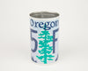 OREGON CANISTER  Recycled License Plate Art - Unique Pl8z