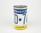 Pennsylvania License Plate Pencil Holder - Pennsylvania Souvenir - Father's Day gift Idea - Pennsylvania Teacher Gift idea - Pennsylvania Gift Idea  Recycled License Plate Art - Unique Pl8z