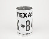 Texas License Plate Pencil Holder - Texas Souvenir by UNIQUE PL8Z  Recycled License Plate Art - Unique Pl8z