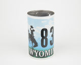Wyoming License Plate Pencil Holder - Wyoming Souvenir - Father's Day gift idea - Graduation gift idea - Teacher gift idea - Wedding Centerpiece  Recycled License Plate Art - Unique Pl8z