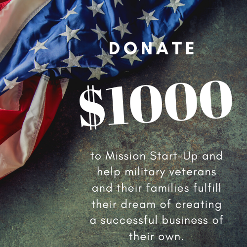 Donate $1,000 to Mission Start UP - Unique Pl8z