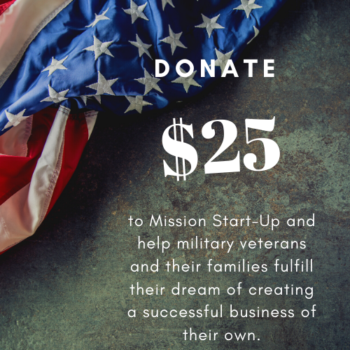 Donate $25 to Mission Start UP - Unique Pl8z