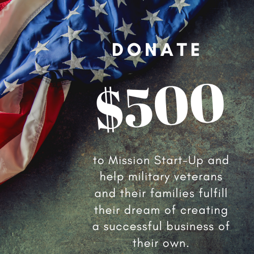 Donate $500 to Mission Start UP - Unique Pl8z