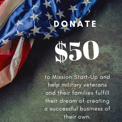 Donate $50 to Mission Start UP - Unique Pl8z