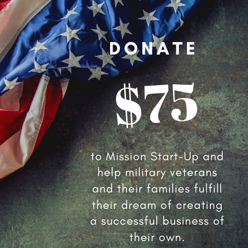 Donate $75 to Mission Start UP - Unique Pl8z