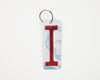 LETTER I KEY CHAIN  Recycled License Plate Key Chain - Unique Pl8z