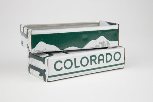 COLORADO TRAY  Recycled License Plate Art - Unique Pl8z