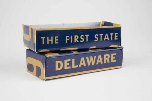 DELAWARE TRAY  Recycled License Plate Art - Unique Pl8z