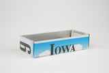 Iowa license plate box - Iowa Souvenir  Recycled License Plate Art - Unique Pl8z