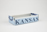 Kansas license plate box - Kansas Souvenir