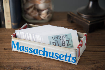 MAINE TRAY  Recycled License Plate Art - Unique Pl8z