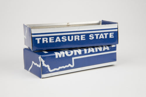MONTANA TRAY  Recycled License Plate Art - Unique Pl8z