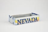 Nevada license plate box - Nevada Souvenir  Recycled License Plate Art - Unique Pl8z