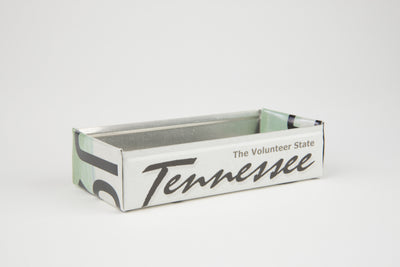 TENNESSEE TRAY  Recycled License Plate Art - Unique Pl8z