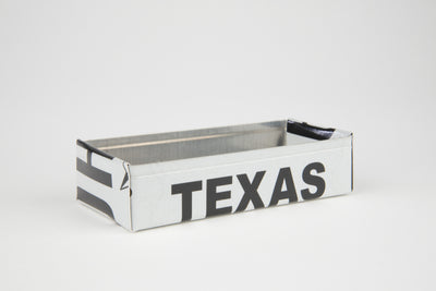 TEXAS TRAY  Recycled License Plate Art - Unique Pl8z