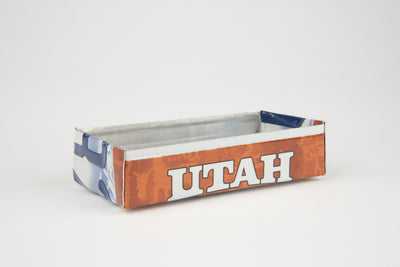 UTAH TRAY  Recycled License Plate Art - Unique Pl8z