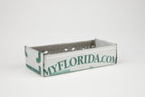 Florida license plate box - Florida Souvenir  Recycled License Plate Art - Unique Pl8z