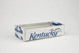 Kentucky License Plate Box - Kentucky Souvenir  Recycled License Plate Art - Unique Pl8z