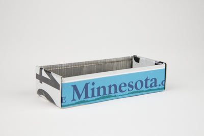 MINNESOTA TRAY  Recycled License Plate Art - Unique Pl8z