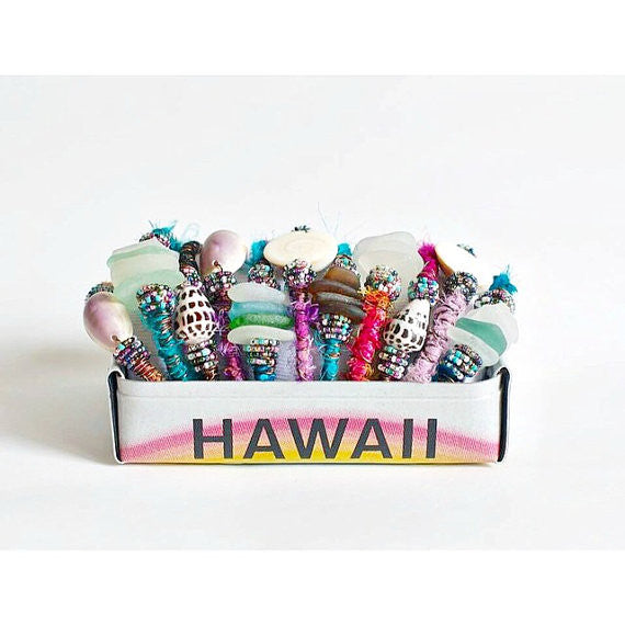 HAWAII TRAY  Recycled License Plate Art - Unique Pl8z