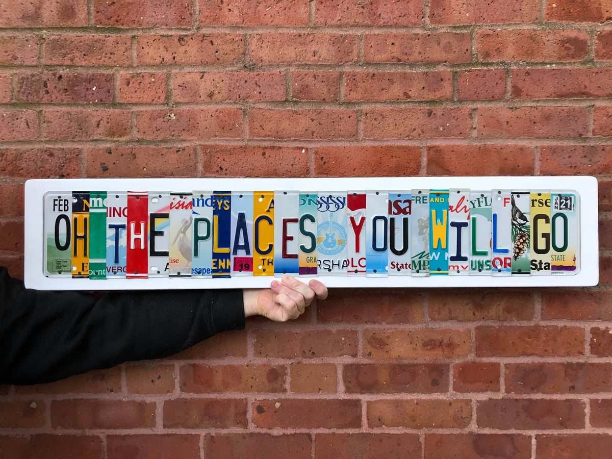 OH THE PLACES YOU WILL GO by Unique Pl8z - Unique Pl8z