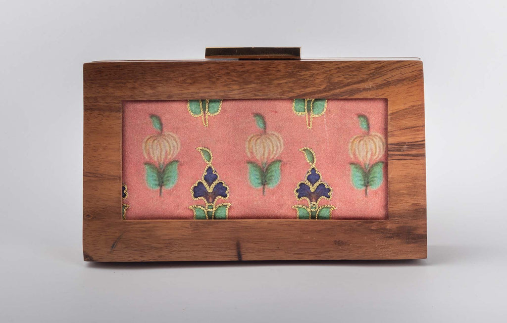 Wall Art Customized Print Clutch - Riviera Closet