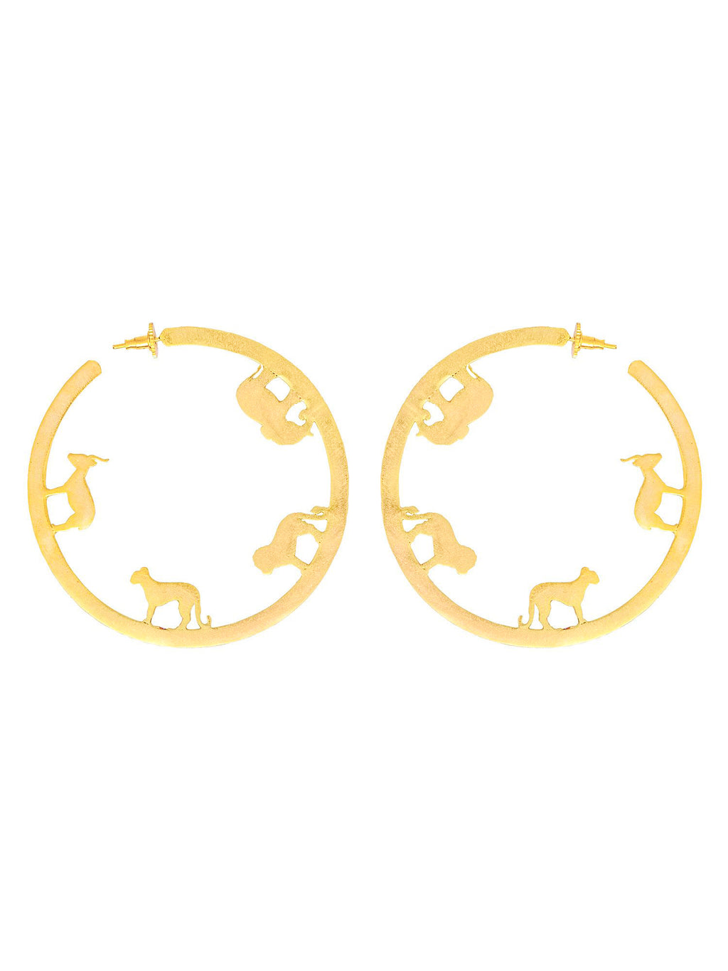 Ode Hoops Small Earrings - Riviera Closet