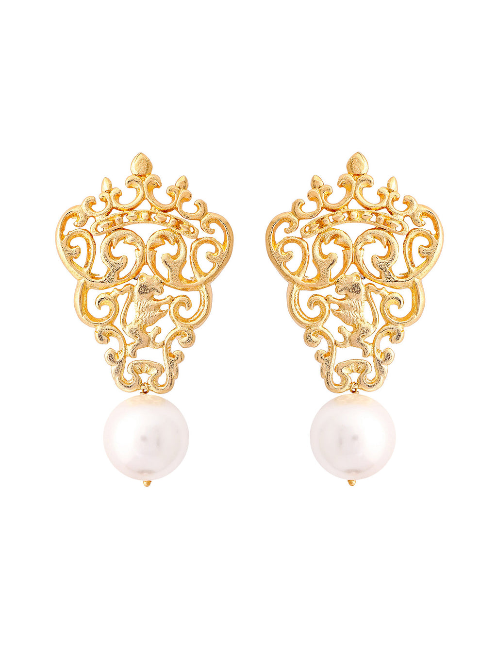 Marguerite Pearl Earrings - Riviera Closet