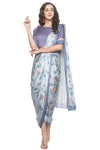 Printed Pre-Stitch Saree - Riviera Closet