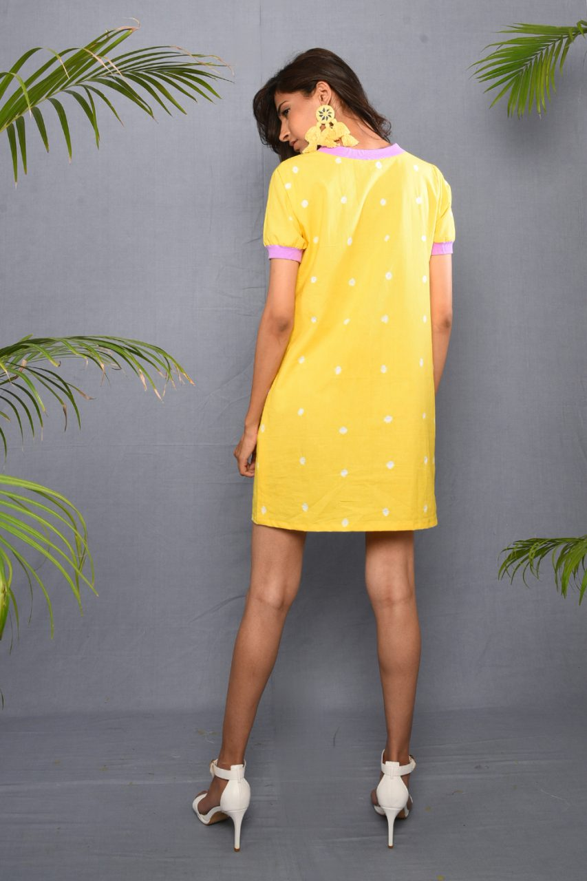 Bandhej T-shirt Dress - Riviera Closet