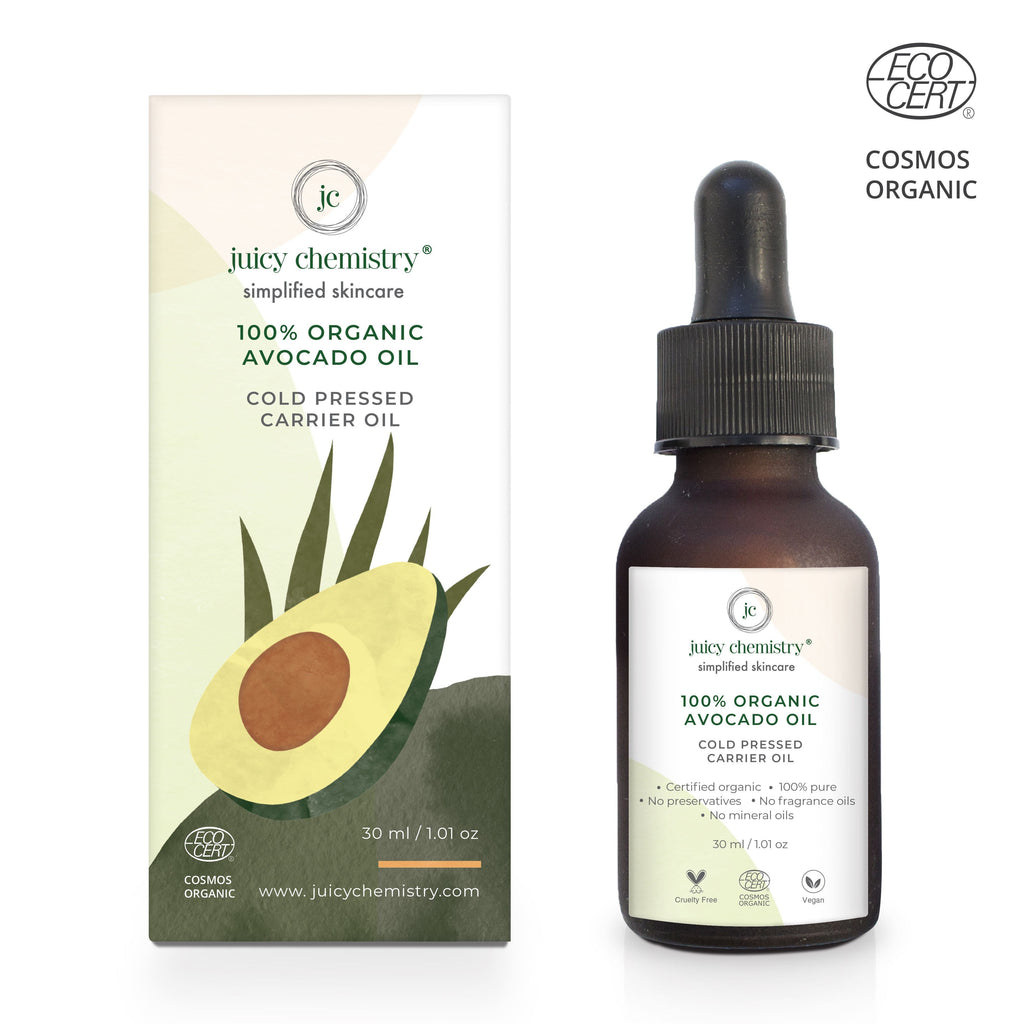 Organic Avocado Cold Pressed Carrier Oil - Riviera Closet