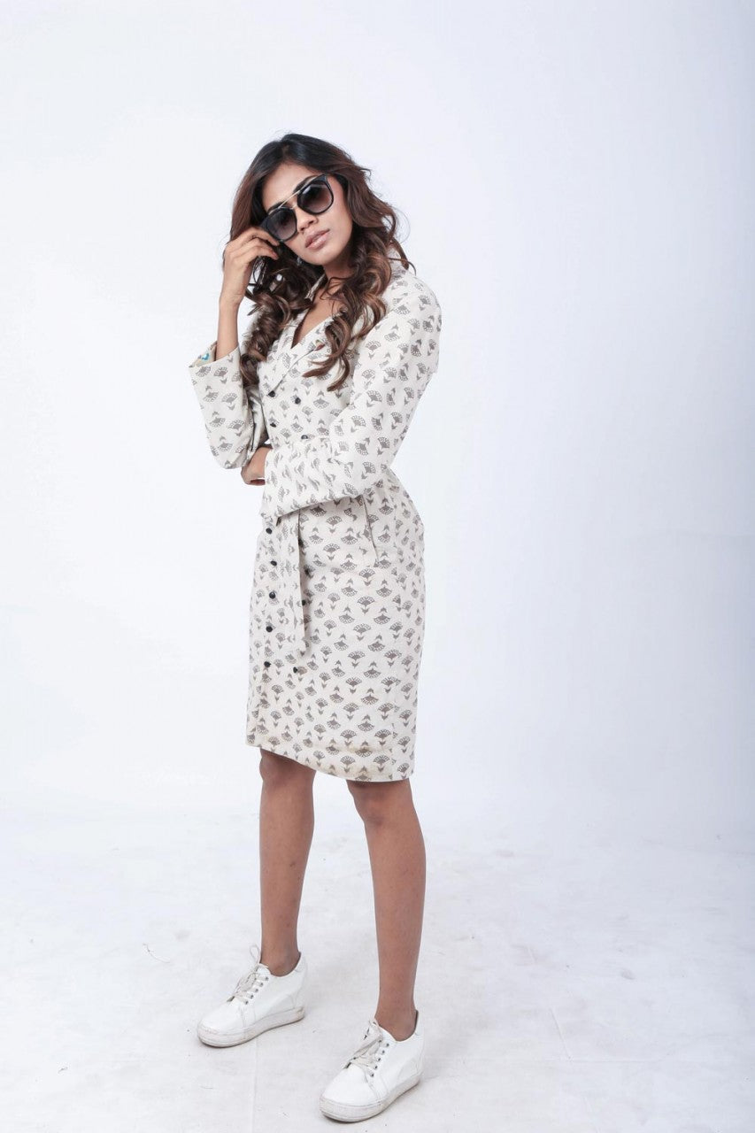 Dabu Trench Dress - Riviera Closet