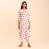Gulaabo Digital Printed Dhoti Jumpsuit with Floral Motif - Riviera Closet