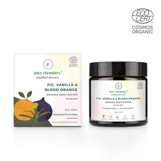 Fig, Vanilla & Blood Orange Organic Body Butter - Riviera Closet