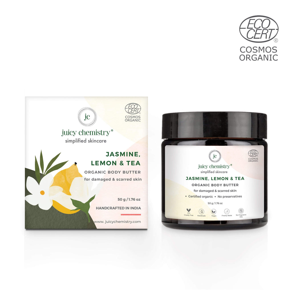 Jasmine, Lemon & Tea Organic Body Butter - Riviera Closet