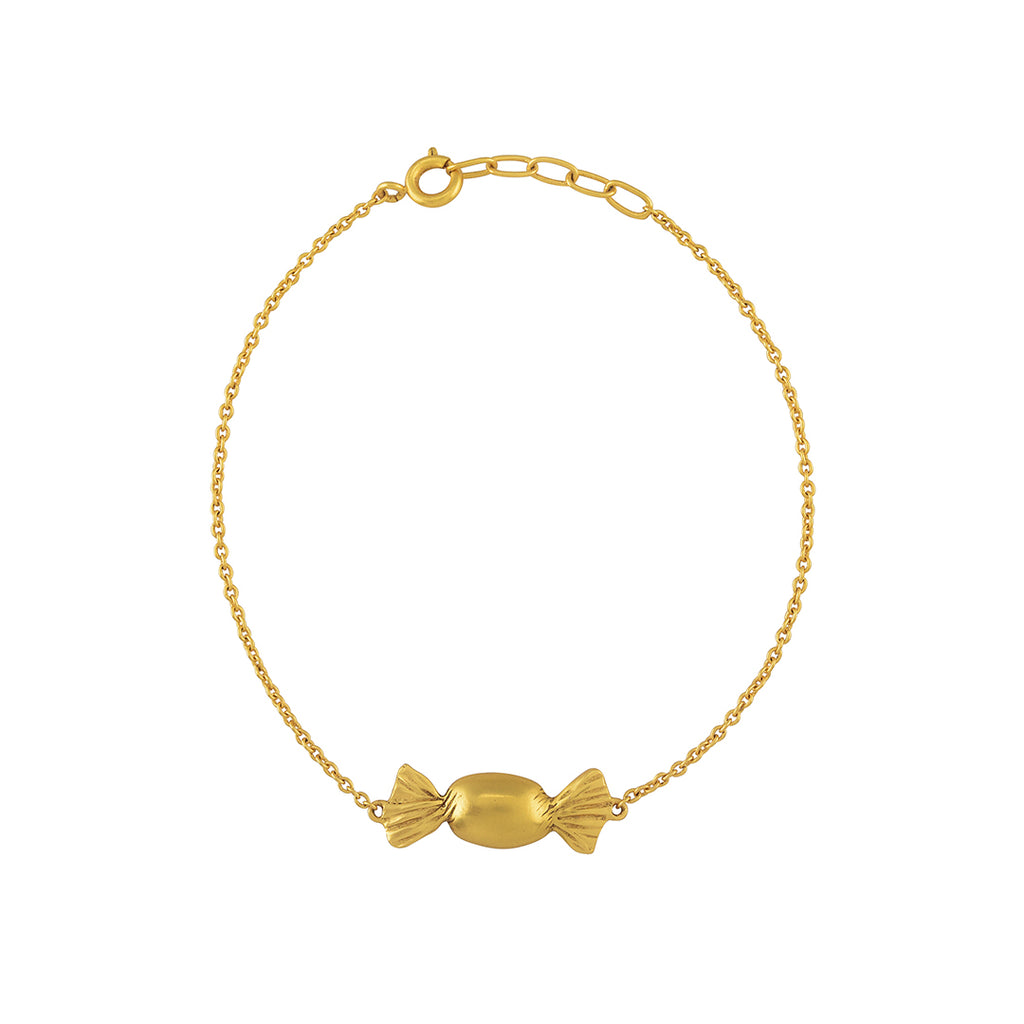 Toffee Gold Plated Bracelet - Riviera Closet