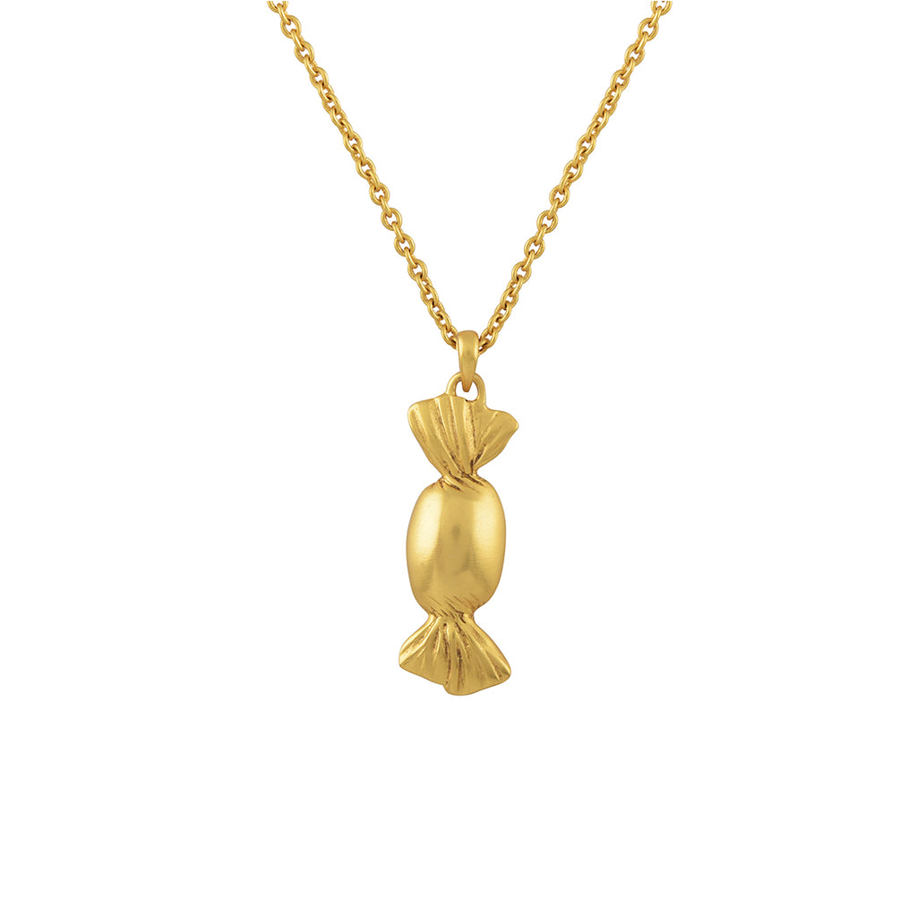 Toffee Gold Plated Necklace - Riviera Closet