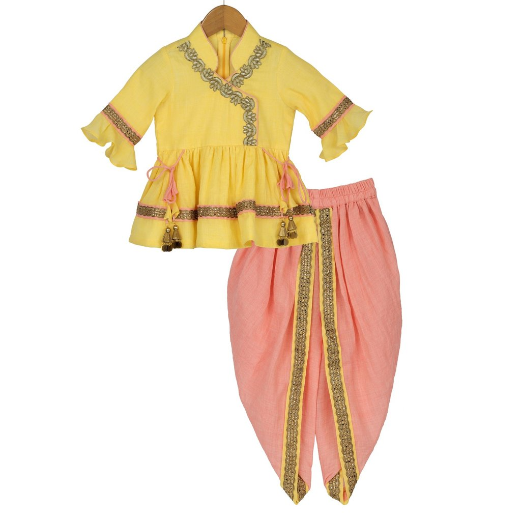 Tropical Sun Traditional Dhoti Set - Riviera Closet
