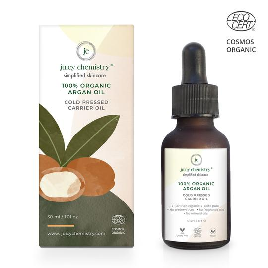 Organic Argan Cold Pressed Carier Oil - Riviera Closet