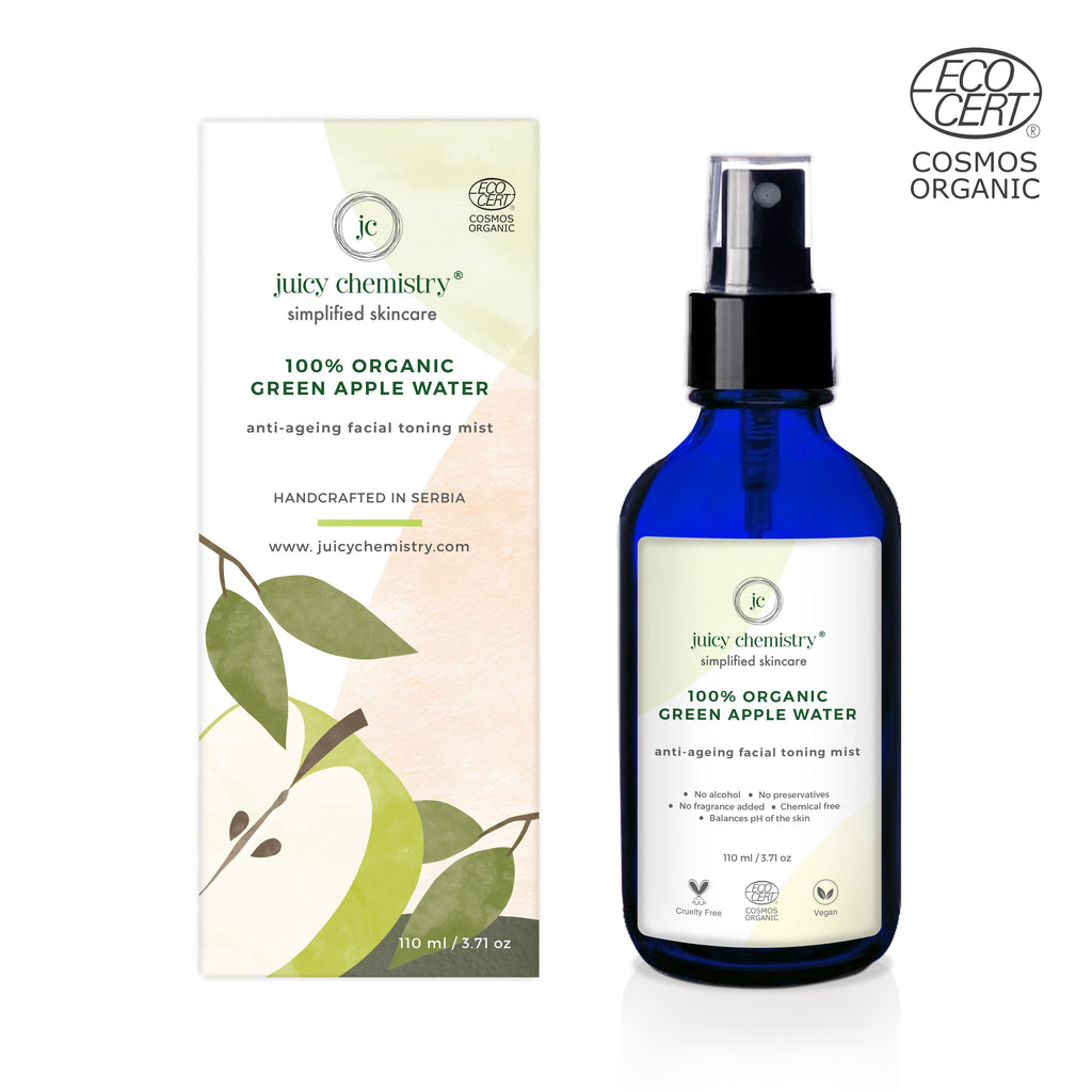Organic Green Apple Water Toning Mist - Riviera Closet