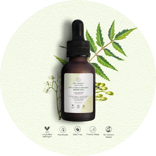Organic Cold Pressed Neem Carrier Oil - Riviera Closet