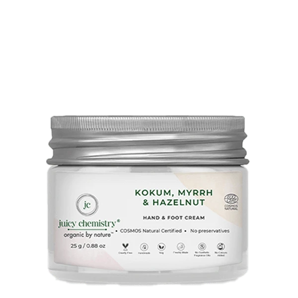 Kokum, Myrrh & Hazelnut Hand & Foot Cream - Riviera Closet